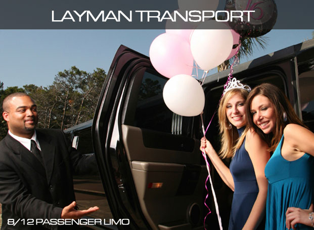 8/12 passagers Limo